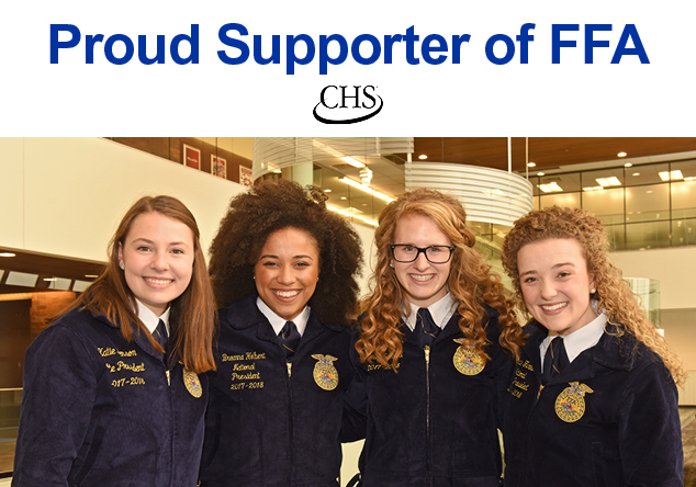 CHS is a proud supporter of FFA
